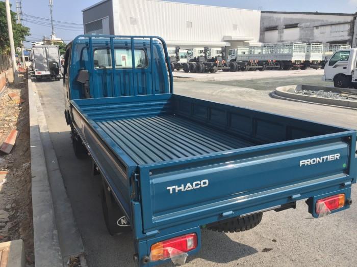 Thaco Kia K165 tải 2,4 tấn với các option thùng lửng, thùng mui bạt, thùng kín 4