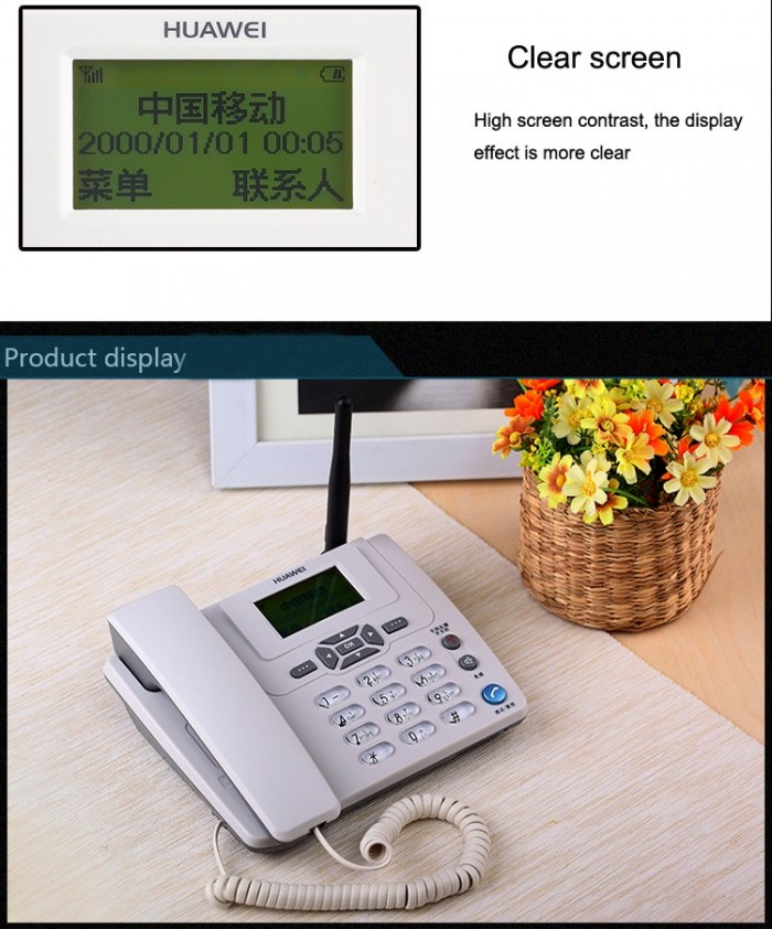 Điện Thoại Bàn Cố Định Homephone Huawei 3125I0