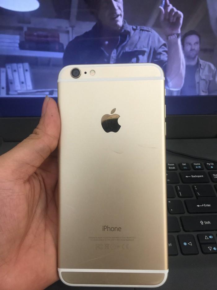 iphone 6 plus 16gb quốc tế k lỗi lầm. hình thức 90%, bao test 3 ngày lôi hoàn tiền0