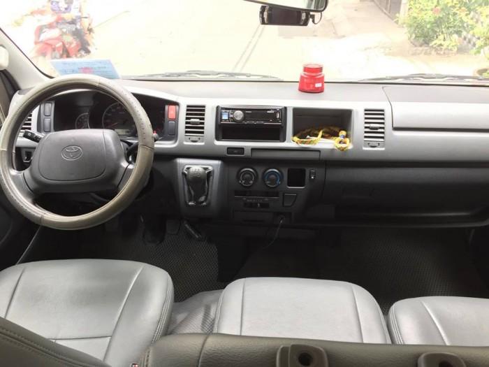 Cần bán gấp xe Toyota Hiace 2007 số sàn xe 16 chổ còn rất mới