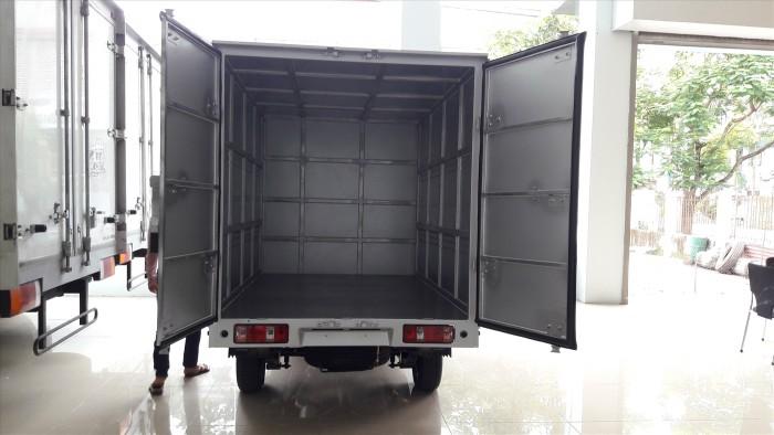 Bán xe tải thùng không mui, thùng kín DongBen 1