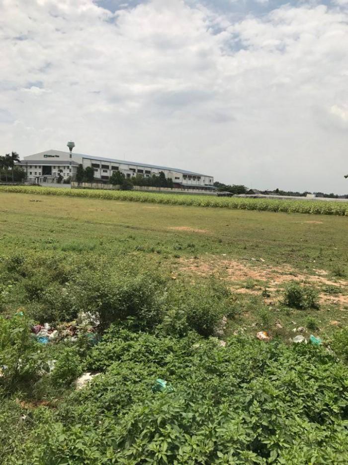 Bán đất mặt tiền đường Dương Công Khi Hóc Môn