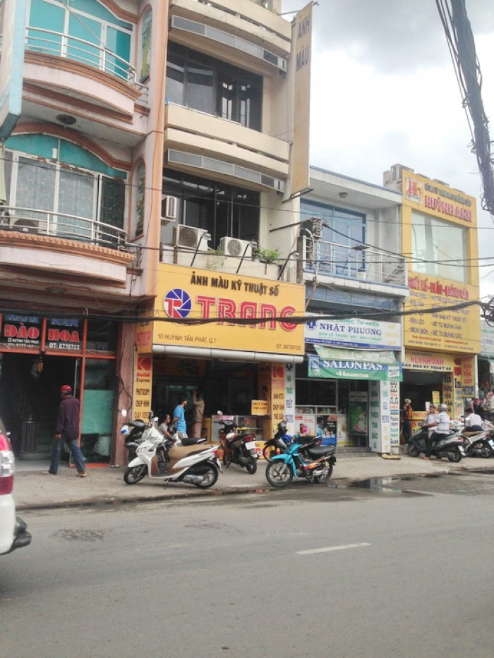 Hàng  cực hót Bán nhà mặt tiền Huỳnh Tấn Phát, Quận 7, DT 4,5x16m,2 lầu.