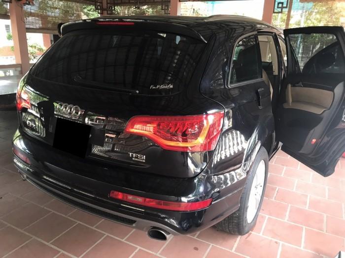 Nhà mình cần bán chiếc Audi Q7 3.0L V6 TFSI Quattro 2015 màu đen vip 5