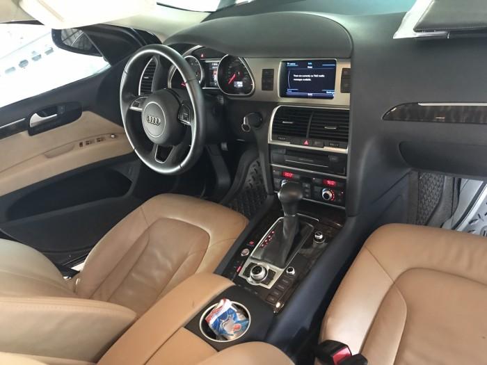 Nhà mình cần bán chiếc Audi Q7 3.0L V6 TFSI Quattro 2015 màu đen vip 8