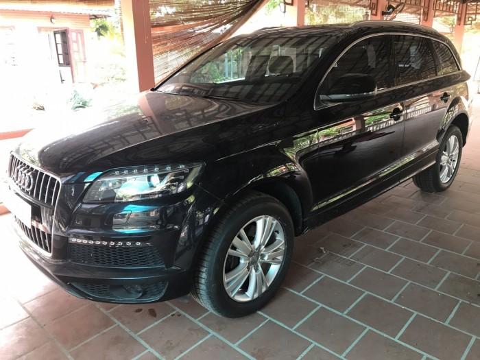 Nhà mình cần bán chiếc Audi Q7 3.0L V6 TFSI Quattro 2015 màu đen vip 10