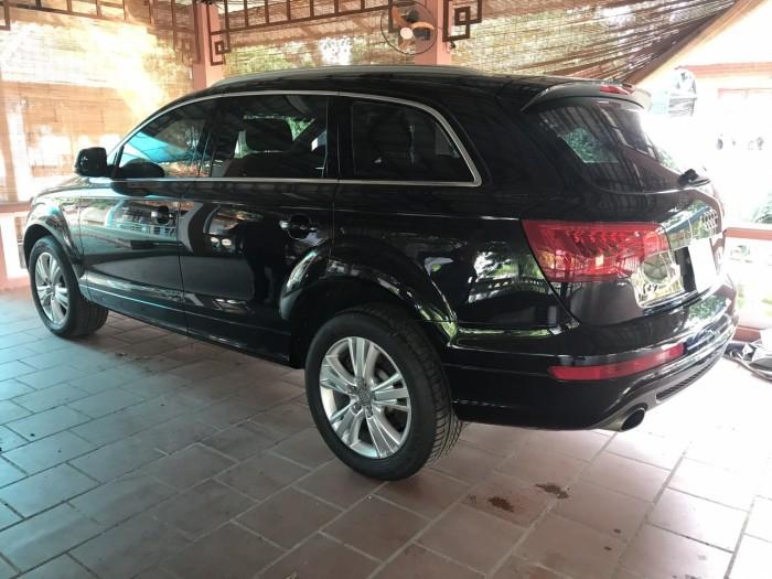 Nhà mình cần bán chiếc Audi Q7 3.0L V6 TFSI Quattro 2015 màu đen vip 11