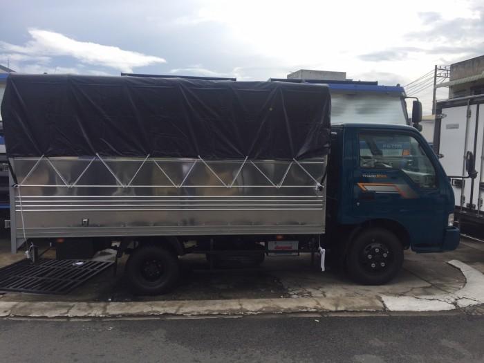 Xe tải Kia Trường Hải K165, tải trọng  2T3, 2T4 thùng mui bạt mới 100%