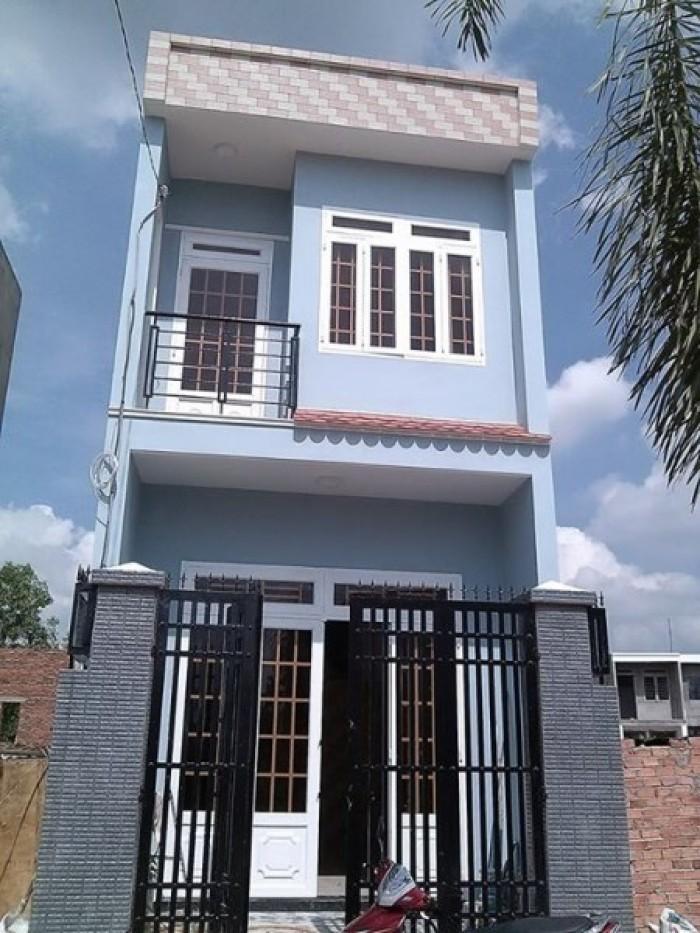 Nhà hẻm Nguyễn Hữu Trí 1trệt-1 lầu, 80m2