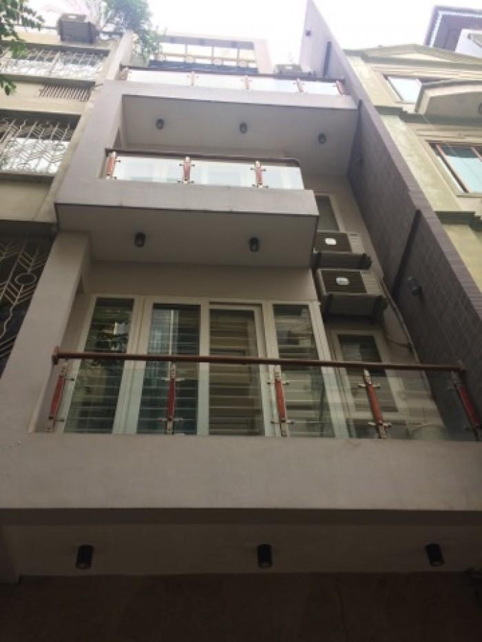 Nhà phân lô-Oto đỗ cửa-Nhà phố Phạm Tuấn Tài 55m2, 5 tầng, MT 3.8m