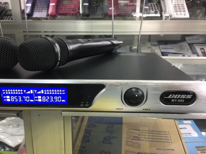 Micro không dây chính hãng BOSS MT-990 Hát karaoke chuyên nghiệp cho gia đình, kinh doanh karaoke0