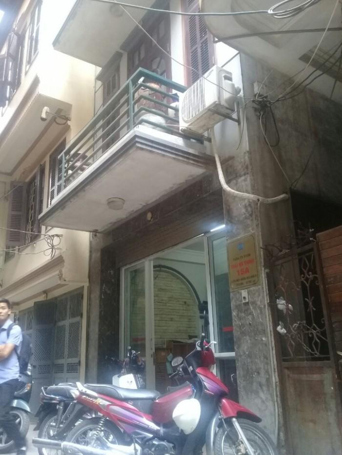 Nhà tầng 1 , kinh doanh, ô tô đỗ tại ngõ 106 phố Chùa Láng, 1,25 tỷ