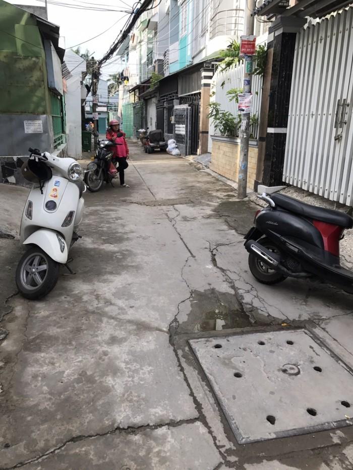 Bán nhà hẻm xe hơi Nguyễn Văn Qùy , dt:4x15m2