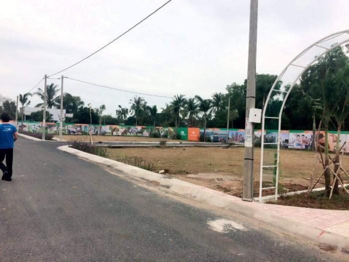Đất Bình Chánh, đã có sổ, trên đường Nguyễn Văn Linh, gần bến xe Miền Tây mới, giá chỉ 449 triệu