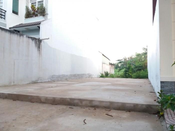 Bán gấp lô đất nền giá rẻ khu Tên Lửa đường 1C, 4x16m, Bình Trị Đông B, Bình Tân