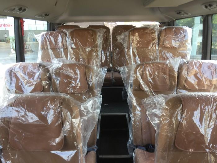 Xe khách 29 chỗ Hyundai County One thân dài Đồng Vàng 2017 0