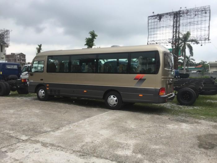 Xe khách 29 chỗ Hyundai County One thân dài Đồng Vàng 2017 3