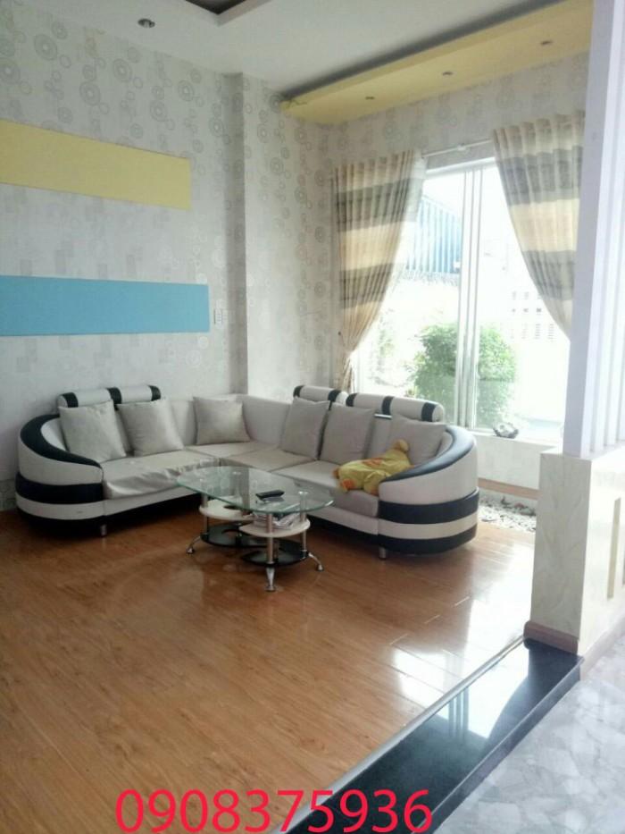 Cần bán gấp biệt thự mini hẻm 7m, Phạm Hữu Lầu , Nhà Bè, Dt 11x15m.