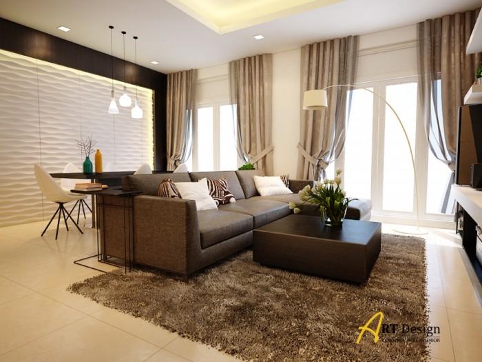 Cần cho thuê nhà mới 100% vào ở liền căn hộ cao cấp Green Valley.