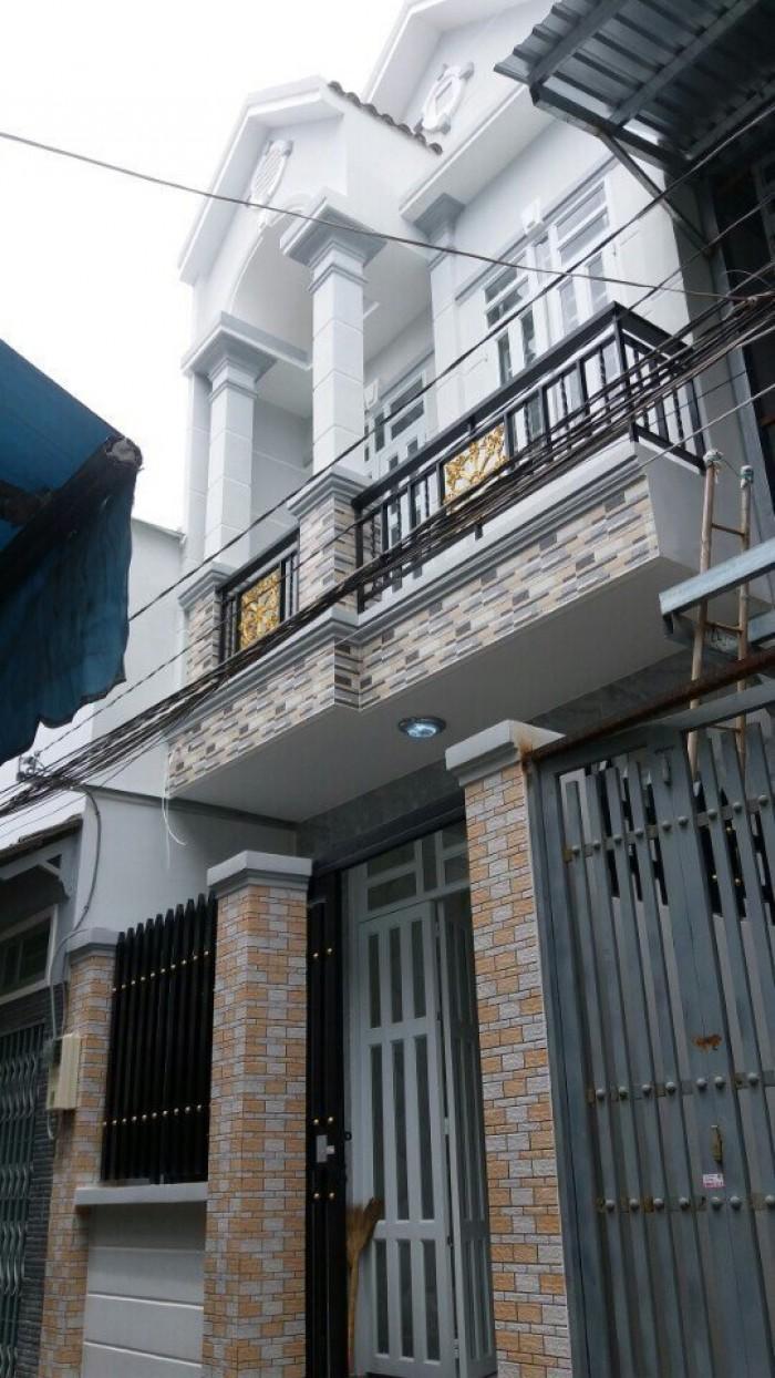 Nhà Nhà Bè Giá Rẻ, Huỳnh Tấn Phát, Kt 4*13,  2 Tầng, 2PN