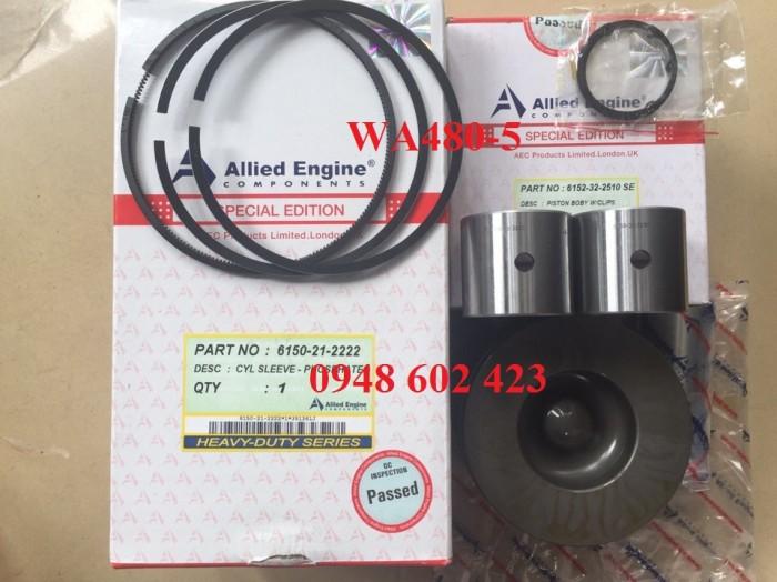 Bộ hơi xe xúc WA480-5 SAA6D125. 0