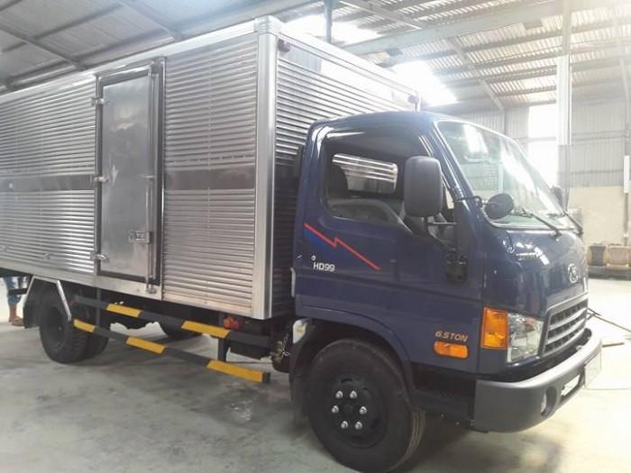 Xe Hyundai 6,5 tấn HD99, trả trước 100 triệu, giao xe trong vòng 10 ngày.
