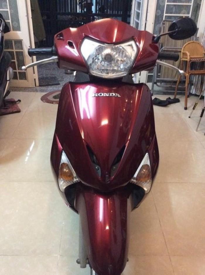 Honda Lead màu đỏ .dk 2012 Chính chủ bstp