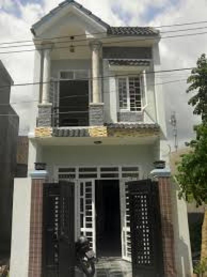 Bán nhà Huỳnh Tấn phát, Nhà Bè, DT 3,2x7,5m, 2 tầng