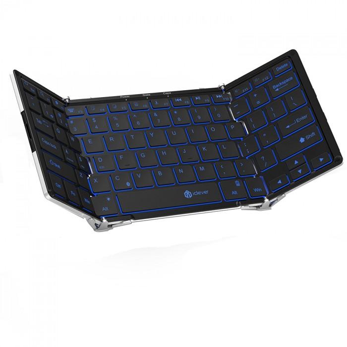 Bàn phím gập mini không dây Plugable Bluetooth Folding Keyboard0