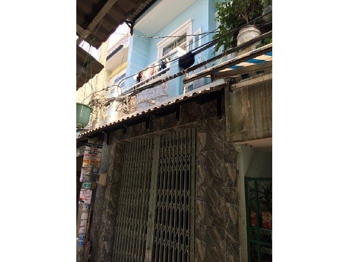 Cần bán căn nhà hẽm đường Miếu Bình Đông