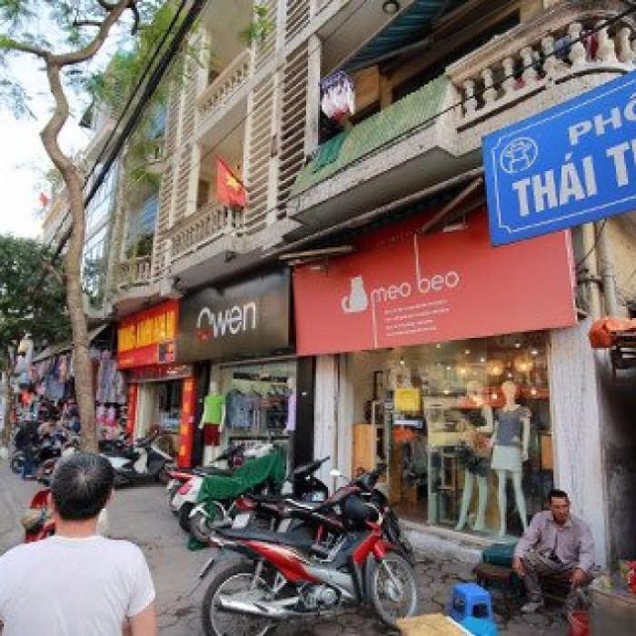 Bán nhà mặt phố Thái Thịnh, kinh doanh