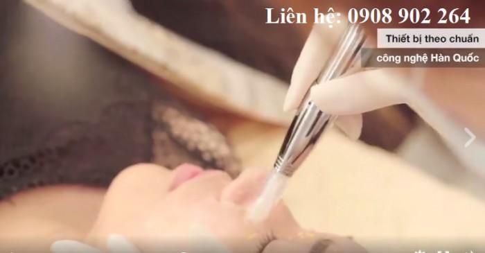 Dịch Vu Lăn Serum Kim Vàng Cho Liệu Trình Collagen Chuẩn Hàn tại Springtime Spa Clinic Quận 1