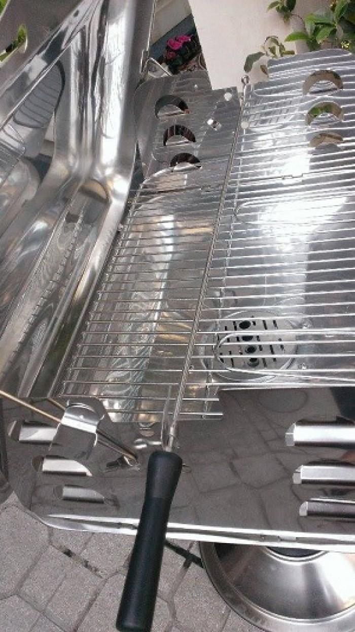 Bếp nướng inox dùng ngoài trời Landmann 11285, bếp nướng gia đình Việt0
