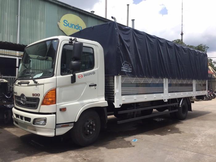 Bán Xe tải Hino FC9JJSW – 6 tấn – Thùng lửng/ Thùng bạt/ Thùng kín/ Thùng bảo ôn