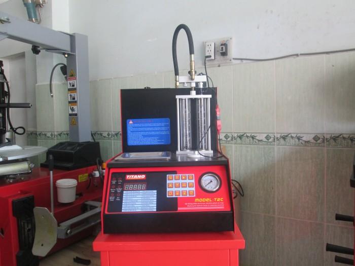 Nơi bán máy vệ sinh kim phun xăng điện tử titano t2c giá rẻ tại tp HCM