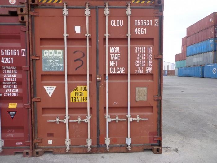 Cho thuê các loại container 20'DC,40'DC, 40'HC giá rẻ trên toàn quốc