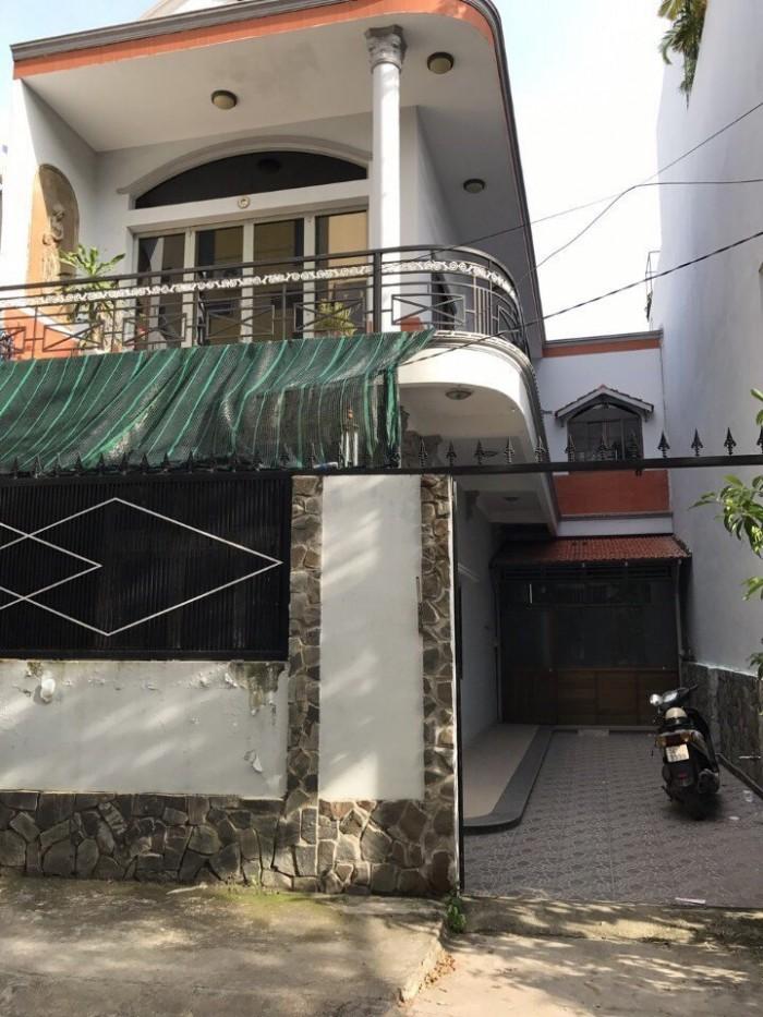 Bán biệt thự mini hẻm 502, huỳnh Tấn Phát, Quận 7, Dt 8x16m, 2 tầng