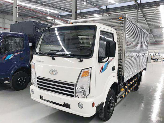 Bán xe tải Teraco 2.4 tấn động cơ Isuzu thùng dài 4,3m, có hỗ trợ trả góp 90% xe 0
