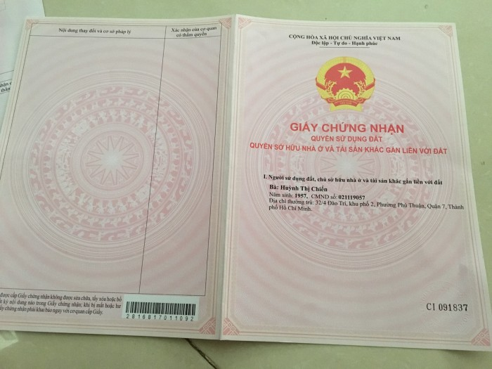 Bán đất khu dân cư Nam Sài Gòn