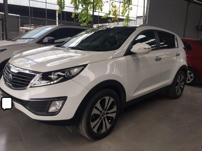 Bán Kia Sortage 2.0AT 2013 màu trắng xe nhập nguyên chiếc 0