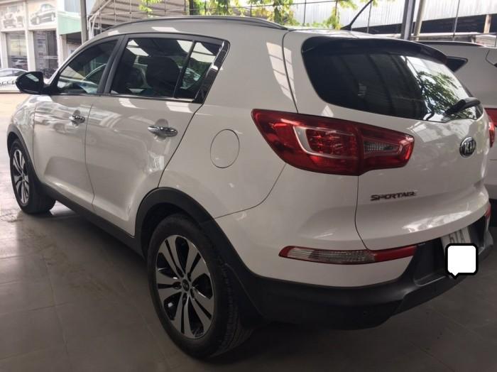 Bán Kia Sortage 2.0AT 2013 màu trắng xe nhập nguyên chiếc 2