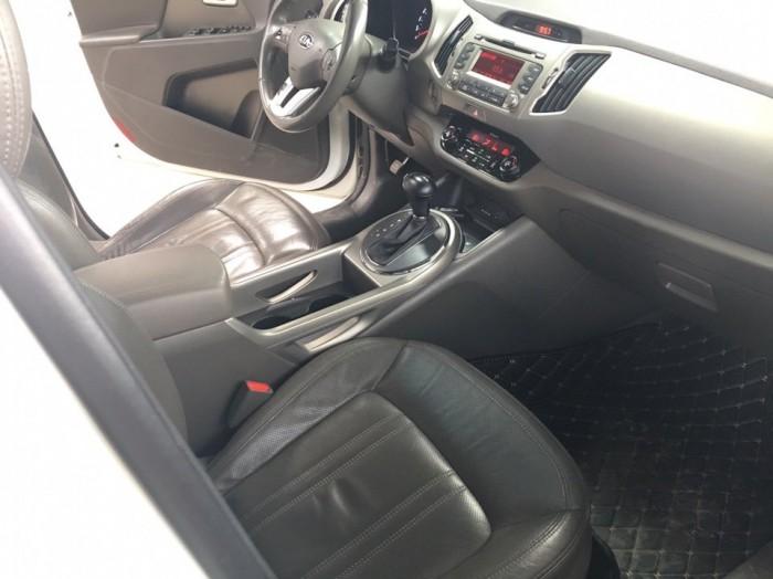 Bán Kia Sortage 2.0AT 2013 màu trắng xe nhập nguyên chiếc 5