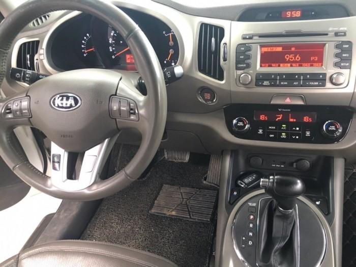 Bán Kia Sortage 2.0AT 2013 màu trắng xe nhập nguyên chiếc 8