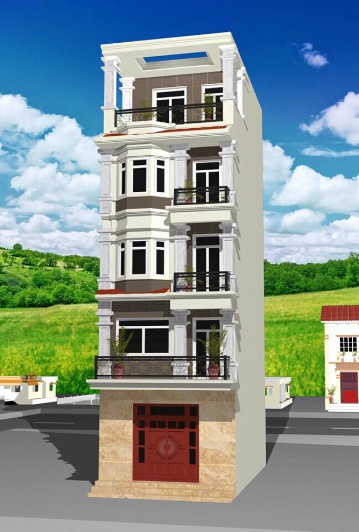 Cần tiền bán Gấp căn nhà mới xây, 30,7m2,MT= 4,15m,ở làng Nha, Long Biên