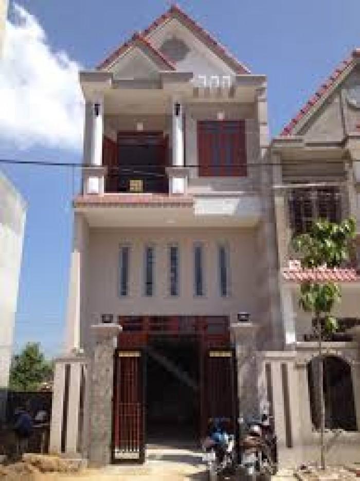 Nhà 1 trệt, 1 lầu, sổ hồng riêng, ngay KCN Vĩnh Lộc 2