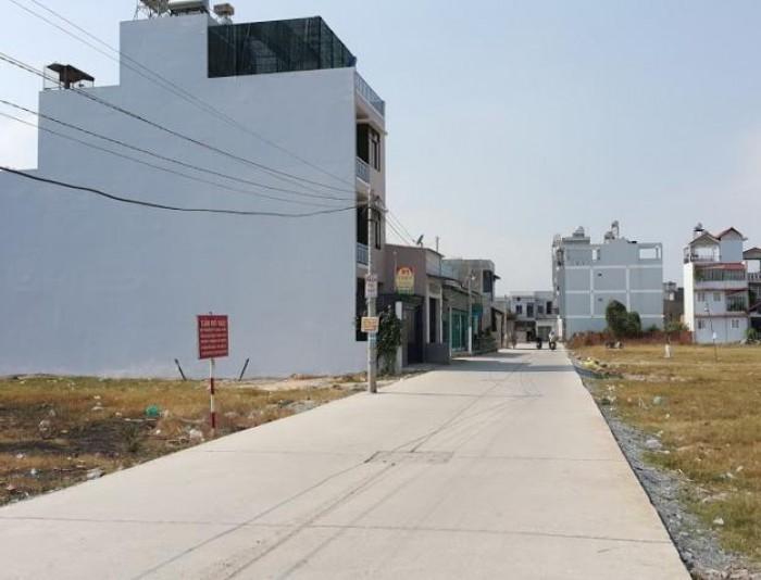 Bán đất gần chợ, DT 6x25m, MT Nguyễn Hữu Trí, vào kinh doanh ngay,