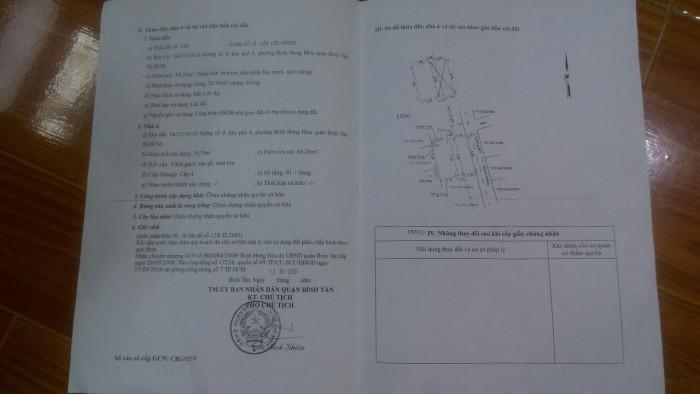 Cần bán gấp nhà tại Bình Hưng Hòa quận Bình Tân