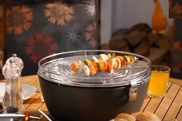 Bếp nướng than Hoa không khói PD17- T116, bếp nướng than hoa gia đình0