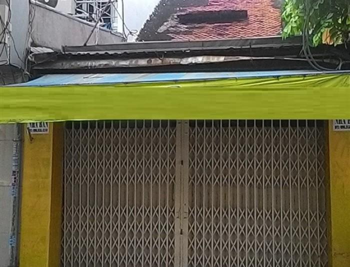 Nhà quận 1,cấp 4, 3 mặt tiền,SHR, 78 Bùi Thị Xuân