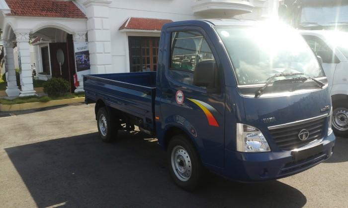 Xe tải TaTa 1T2 Thùng lửng nhập khẩu Ấn Độ | Xe tải TaTa Super Ace 1.2 tấn